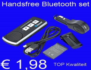 Handsfree Bluetooth set speakerphone € 1,98
