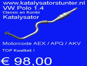 € 98,00 Katalysator VW Polo 1.4 10029454