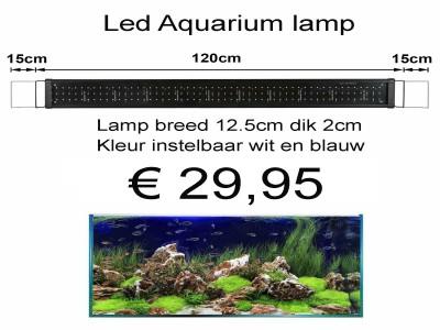 OPRUIMING : LED Aquarium verlichting voor 120cm tot 180cm bak