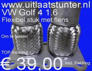 € 39,00 Katalysator Flexibel VW Golf 4 1.6  121-004