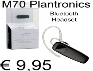 M70 Plantronics Bluetooth Headset NIEUW IN DOOS