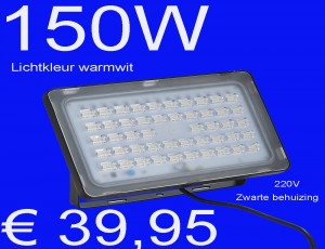 LED bouwlamp 150W lamp ledlamp verlichting ledlicht warmwit