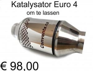 Katalysator universeel om te lassen Euro 4