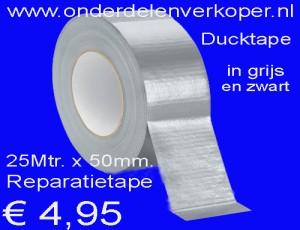 Reparatietape Ducktape Rol 50Mtr. x 50mm.