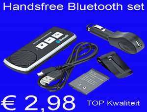 Handsfree Bluetooth set speakerphone