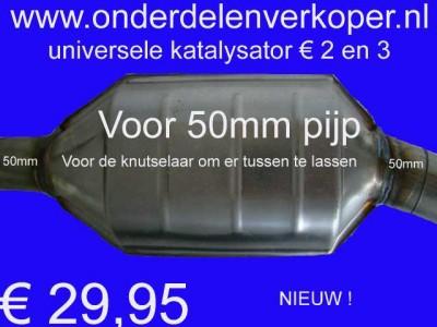 OPRUIMING : Universele katalysator voor 50mm € 2 en € 3 NIEUW